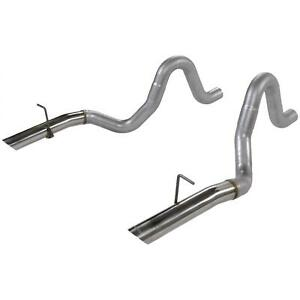 Flowmaster 15820 Tailpipes 3in Pair 87 93 Mustang