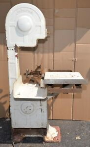 Commercial Antique Meat Band Saw Jim Vaughan Collectible Butcher Slicer Tool