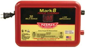 Parmak Mark 8 7 Electric Fence Charger 110 120 V 1 1 To 4 9 J