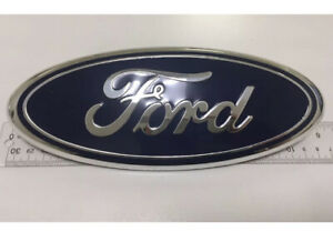 2011 2016 Ford Explorer Edge F 150 250 350 9 Oval Dark Blue Grille Emblem