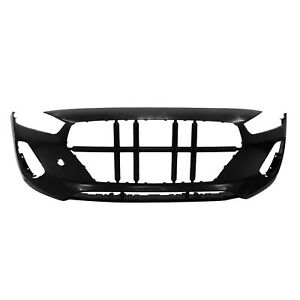 Hy1000223 New Replacement Front Bumper Cover Fits 2018 2020 Hyundai Elantra Gt