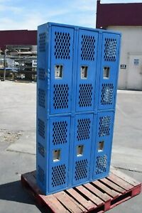 Republic s Republic Compartment school gym lockers locker boys Cubby Metal Blue