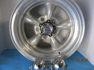 4 Original Center Caps For New American Racing Wheels 2 1 4 Hole Spacing