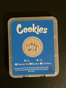 Cookies Cereal Milk Shatter Concentrate Case