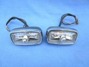 1967 Pontiac Gto Parking turn Signal Lights Restored Oem Pair