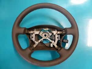 Toyota Land Cruiser 100 Series Lexus Lx470 Padded Steering Wheel New Leather