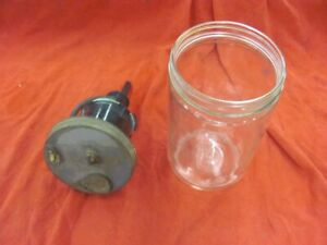 55 56 57 Chevrolet Chevy Cadillac Glass Trico Washer Canister W Lid