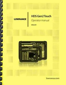 Lowrance HDS Gen2 Touch Fishfinder OWNER'S MANUAL