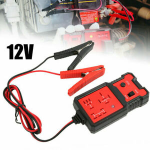 12v Universal Electronic Automotive Relay Tester For Car Auto Battery Checker