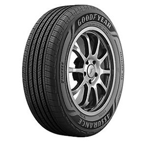 2 New Goodyear Assurance Finesse 235 55r18 Tires 2355518 235 55 18