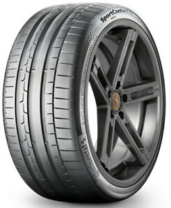 1 New Continental Sportcontact 6 245 35r19 Tires 2453519 245 35 19