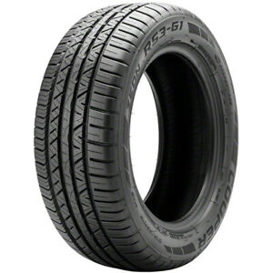2 New Cooper Zeon Rs3 G1 255 35r20 Tires 2553520 255 35 20