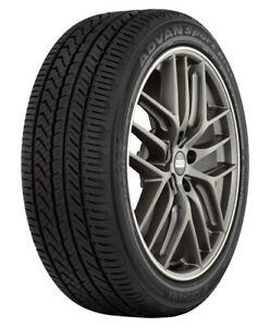 1 New Yokohama Advan Sport A s Plus 255 35r20 Tires 2553520 255 35 20