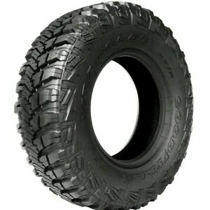 4 Goodyear Wrangler Mt r With Kevlar Lt35x12 50r17 Tires 35125017 35 12 50 17