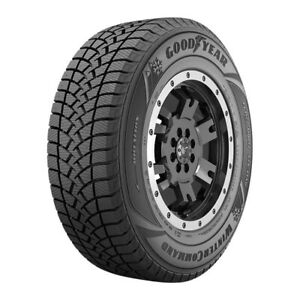 2 New Goodyear Winter Command Lt 245 65r17 Tires 2456517 245 65 17