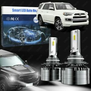 9005 High Beam Led Headlight Bulb Kit 6000k White 52w For 4runner 2014 2021
