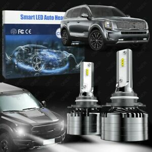 9005 Hb3 Led Headlight Bulb 6000k White For Kia Telluride 20 21 Conversion Kit
