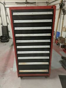Vidmar 10 Drawer Tool Box cabinet
