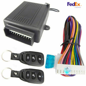 Car Truck Remote Control Central Kit Door Locking Safety Keyless Entry System Us