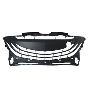 Ma1036113 New Bumper Cover Grille Fits 2010 2013 Mazda 3 Speed Hatchback