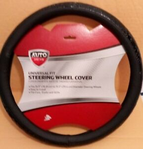 Universal Fit Steering Wheel Cover Color Black Fits Most Snake Design