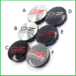 4x56mm Oz Racing Rim Caps Hubcaps Wheel Center Caps Emblems Different Styles