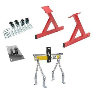 Speedway Gm Ls V8 Rolling Engine Stand With Lift Plate Leveler