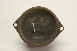 Original 1930 S Car Truck Dash Interior Temperature Gauge Chevrolet Ford Mopar