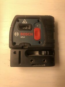 Bosch Gpl 5 Self Leveling Point Red Alignment Laser
