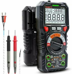Kaiweets Digital Multimeter Trms 6000 Counts Ohmmeter Auto ranging Fast Accurate