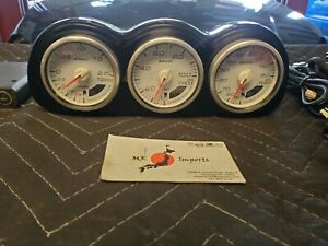 Subaru Forester Impreza Legacy Sti Sg9 Gdb Defi Boost Oil Press Oil Temp Gauges