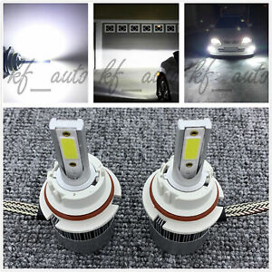 9004 Hb1 Cree Led Headlights Bulbs Kit High Low Beam 6000k White 55w 8000lm