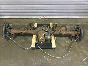 3yb0 2007 Toyota Fj Cruiser Rear End 4x4 3 91 Differential Elocker