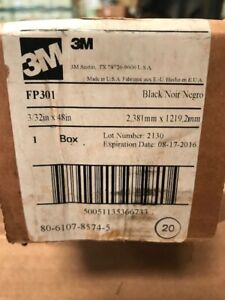 3m Fp 301 Black Heat Shrink Tubing 3 32 Inch X 4 Feet Pack Of 20