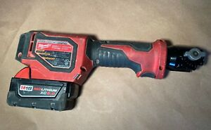 Milwaukee M18 2674 20 Short Throw Press Tool With Red Lithium Cx5 0 Battery