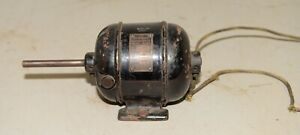 Antique Emerson Electric Motor Pn 02411 Collectible Cast Iron Body 1920 s Tool