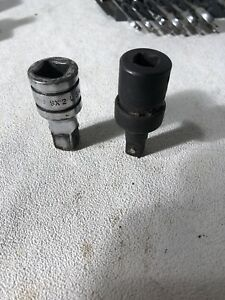 Set Of Two Snap On Socket Extensions Sx2 Ipf 80 13 8b