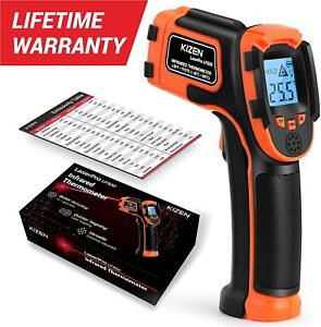 Infrared Thermometer Non contact Digital Laser Temperature Gun With Lcd Display