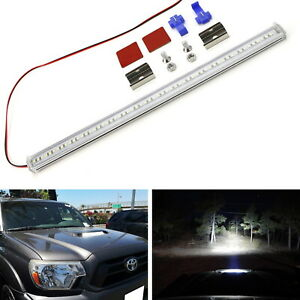 57 led Rigid Slim Fit Hood Scoop Mount Lightbar For Toyota 12 15 Tacoma 4runner