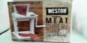 Weston Manual Meat Cuber tenderizer Model 07 3101 w a Used