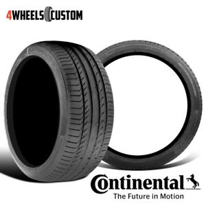 2 X New Continental Contisportcontact 5 245 35r18 92y Performance Summer Tire