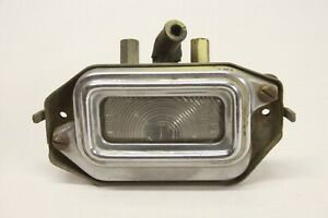 Original 1954 1955 Buick License Plate Light Lamp Assembly Lh Guide L4 54 Gm