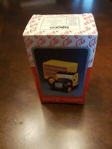 Vintage Coca Cola Salt And Pepper Shakers  Truck  New With Original Box