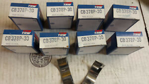 301 331 354 Chrysler Rod Bearings 030 Under Cb378p