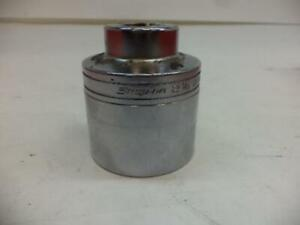 Snap On Ldh682 3 4 Drive 2 1 8 12 point Shallow Socket R22