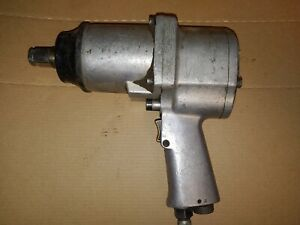 Vtg Milwaukee Pneumatic D91445 3 4 inch Super Heavy Duty Air Impact Wrench Tool