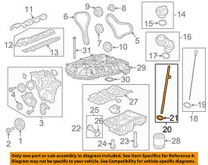 Gm Oem Engine Parts Guide Tube 12651581