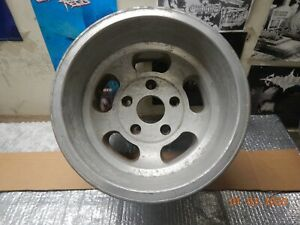 1 Vintage Appliance Slot Mag Wheel 15x10 Ford Van Truck 5 On 5 1 2 Jeep Scout