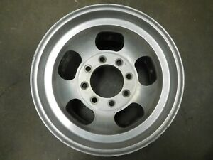16 5 X 9 75 Vintage 8 lug Slot Mag Wheel Ford Dodge Gmc Chevy Truck Van Humvee