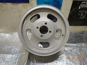 4 lug 15 X 5 5 Slot Mag Wheel Chevy Ford 4 On 4 5 Chevy Nova Maverick Mustang